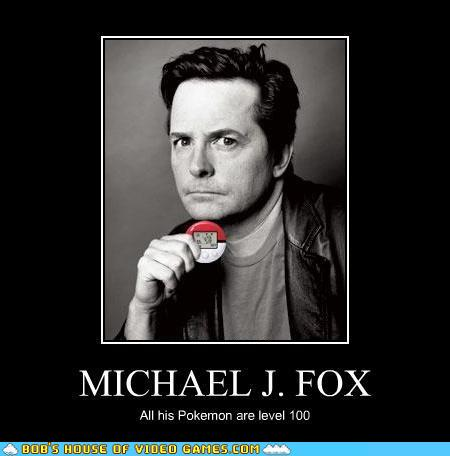 Video Game Lol Michael J Fox Pokewalker