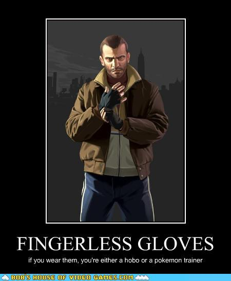 videogame lol FINGERLESS GLOVES