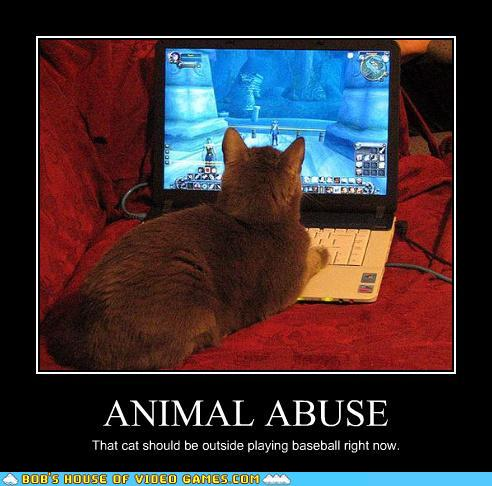 video game lol ANIMAL ABUSE